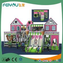 Naughty Castle Professional Manufacturer Of PVC Coated LLDPE Children Indoor Play Zone