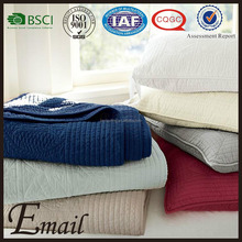 China Wholesale hand embroidered bed sheet emboss cotton air-condition blanket
