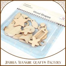 Estrella formas inacabadas madera Recortes para la creación de joyas / pintado / Decorado / Proyectos Artesanía