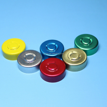 aluminum cap cover 20mm with bromobutyl rubber stopper