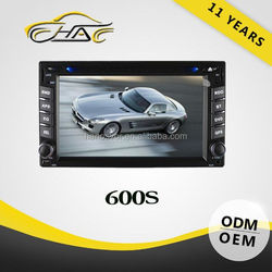 For Universal 6.2 inch Car DVD Player With GPS Navigation With Bluetooth USB SD Rear-view Camera