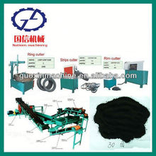 On promotion used tire recycling equipment