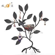 Bird Nest Jewelry Tree Earring Holder Bracelet Stand Necklace Organizer Jewelry Rack
