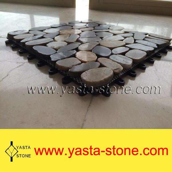 Pas cher mosa que de galets galets en pierre naturelle for Acheter galet decoratif