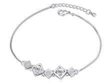 New Design Swarovski jewelry Fashion Crystal geometry Bracelet 2015