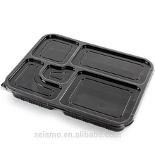 Customized take away container plastic food boxin china