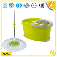 SGS TUV assured high quality double device telescopic hand press mop pole