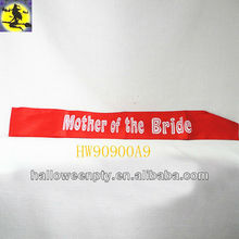 Red Hollowed-Out Mother of the Bride Dress Favor