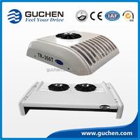Rooftop mounted van refrigeration unit, van cooling system