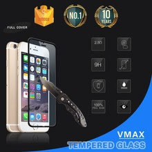Full Screen Cover 0.2mm 9H Black/White Color Tempered glass screen protector for iphone 6 screen protector