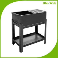 Cast iron window grill prices, charcoal iron grill design for balcony for bbq