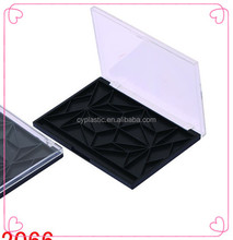 empty eyeshadow palette with mirror ,Clear cosmetic eyeshadow and blush container Model CY-2066