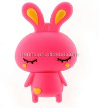 Cute Rabbit pen drive cartoon usb flash