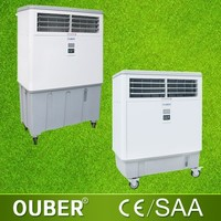 Centrifugal blower type portable evaporative air cooler room air cooler remote control water air cooler