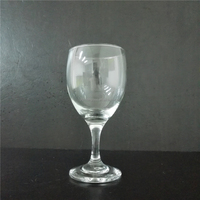 Machine Blown lead of free Brandy Glass for wedding date or other occasions