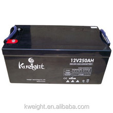 12v 250Ah sealed maintenacne free agm battery for solar power system