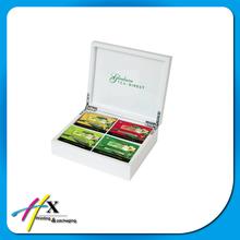 White MDF Tea Box for Home Appliance