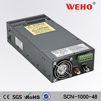 2 years warranty power supply 48v 20a 1000w single output converter