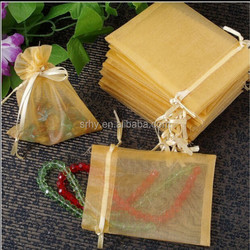 Organza Bag 11x16cm Wedding Jewelry Packaging Pouches,Nice Gift Bags Can Customized Logo Printing