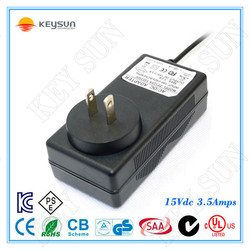 ZF120A-1503500 ac/dc adapter 52.5w 15v 3.5a power ac adapter