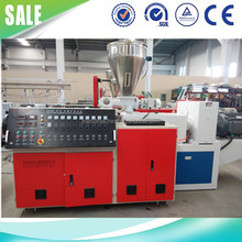 SJSZ-65/132 conical twin screw extruder for PVC pipe/profile/board making PVC granule exruder