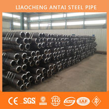 HIGH QUALITY AND BEST PRICE Black ASTM A106 Gr.B Sch40 CARBON SEAMLESS STEEL PIPE