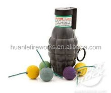 Big Grenade color smoke fireworks for stage/wedding/show/birthday/party