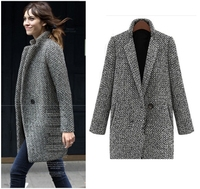 2015 new style fashion garment for woman latest overcoat designs women overcoat