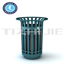 Sale outdoor Dustbin for Park and Community/Mall Dustbin for High Grades/Large Market Dustbin of Steel Material