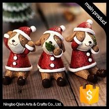 Animal for Christmas, Resin Animal for Christmas, Promotional Animal for Christmas