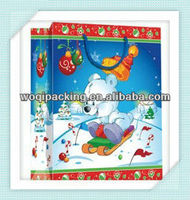 christmas gifts 2014 bag/the christmas gift bag in paper/christmas 2013 new hot items gifts bag
