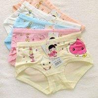 cotton children underwear model