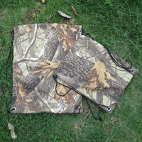 Free Shipping Via FedEx Camo Tree Or Mossy Oak Printing Cotton Drawstring Backpack Gym Bag With Rope Handles DOM-103040