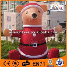 lovely inflatable christmas decoration dog