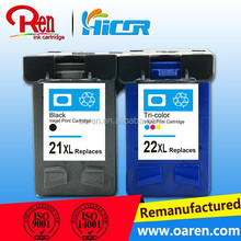 compatible inkjet cartridge for HP 22XL / 9352 remanufactured ink cartridge