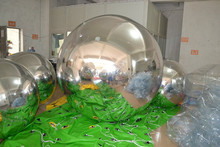 inflatable ball , reflect mirror ball promotion
