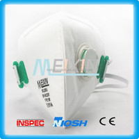 Fold Face Mask N95 /dust mask for construction/anti nuclear radiation mask