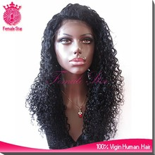 8a grade kinky curly lacefront wig brazilian human hair free wig catalogs