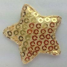 Custom Applique embroidery star design patch
