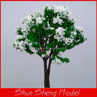 160mm scale model Color model Tree train o scale Miniature Tree