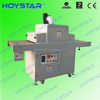 Conveyor belt uv drying machines for screen printing plastic ruler