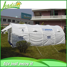 White Canvas Luxury Camping Tent 5 Room, Large Family 12 Person Camping Tent