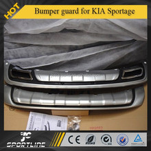 ABS Bumper Protector guard Fit for KI A Sportage R Front + Rear 10-15