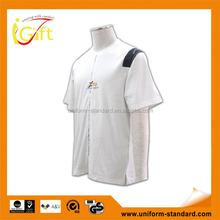 2015 hot sell high quality hemp cotton clothing t shirt