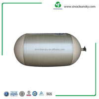 ISO11439 Standard OD406mm 120L CNG Type II Cylinder for Sale