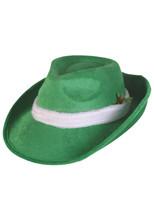 Top quality wool led fedora hat bavarian felt hat BHAT-1623