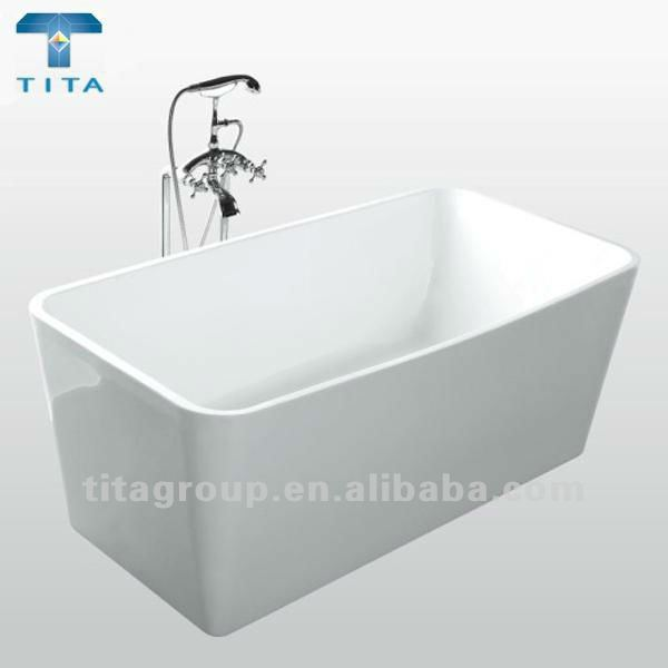 Acrylic plastic portable bathtub buy plastic portable for Bathtub material comparison