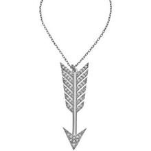 925 sterling silver arrow pendant charm