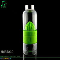 low price factory directly supply high borosilicate tea glass bottle