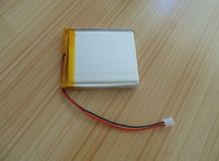 3.7v 3400mah lithium polymer battery size 6.3 x 55 x 80mm